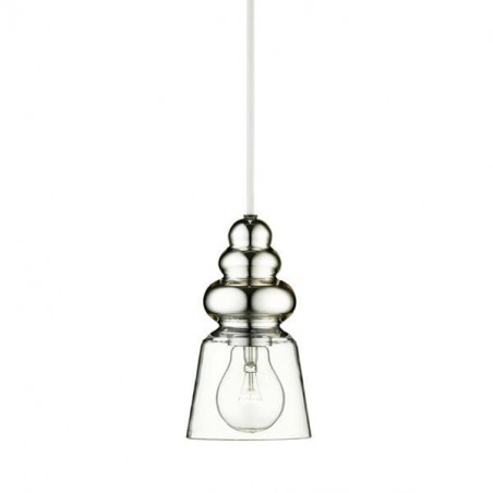 Design by Us Pollish Pendant Lamp XS Clear Glass