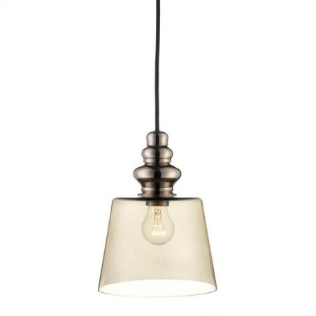 Design by Us Pollish Pendant Lamp Smoke Medium