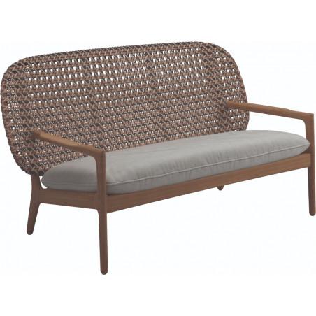 Gloster Katy Low Back Sofa   Brindle Weaving