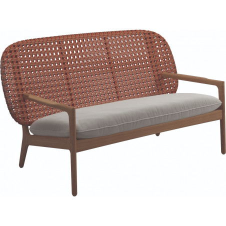 Gloster Kay Low Back Sofa| Copper Weaving