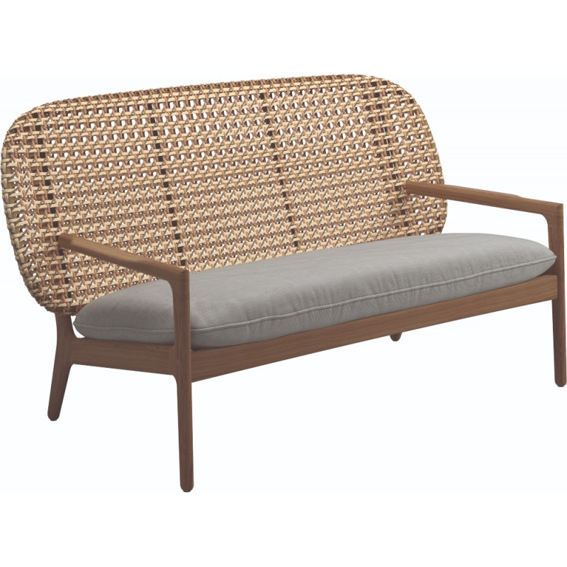Gloster Kay Low Back Sofa| Harvest Weaving