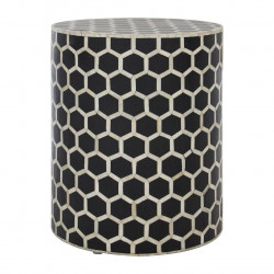 Honeycomb Buffalo Bone Side table