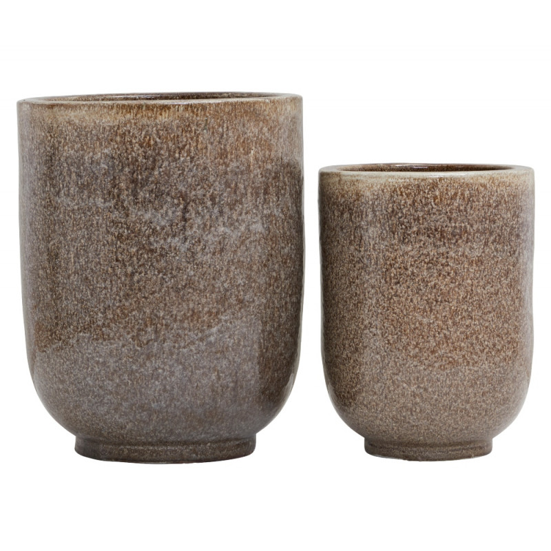 House Doctor Planter Pho Nougat | Set Of Two