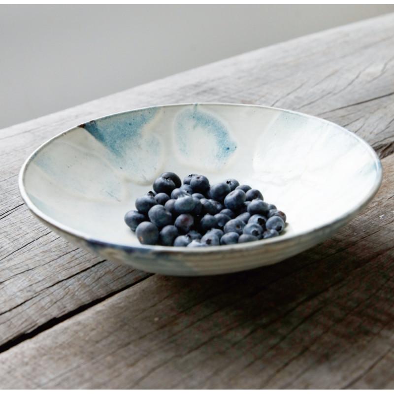 House Doctor Luca Bowl Blue White