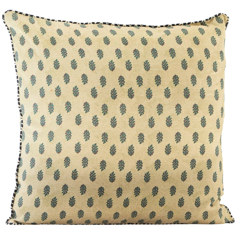 House Doctor Cushion Cover Flora Yellow