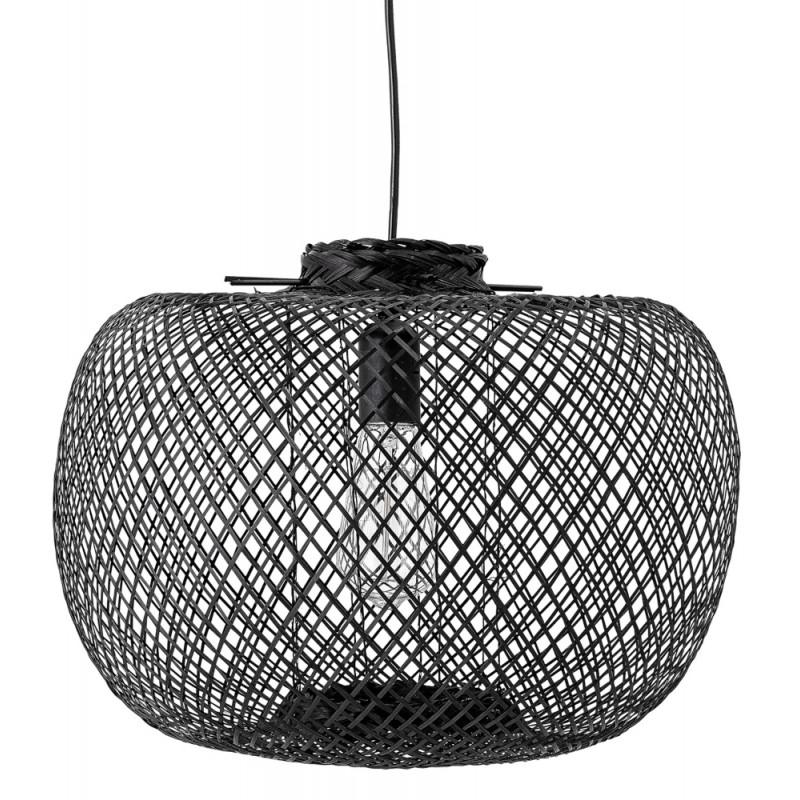 Bloomingville Black Bamboo Pendant Lamp