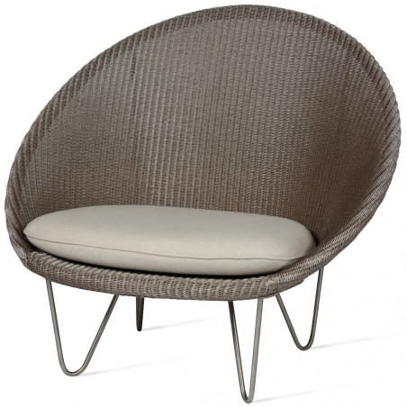 Vincent Sheppard Joe Cocoon Chair With Matt Base
