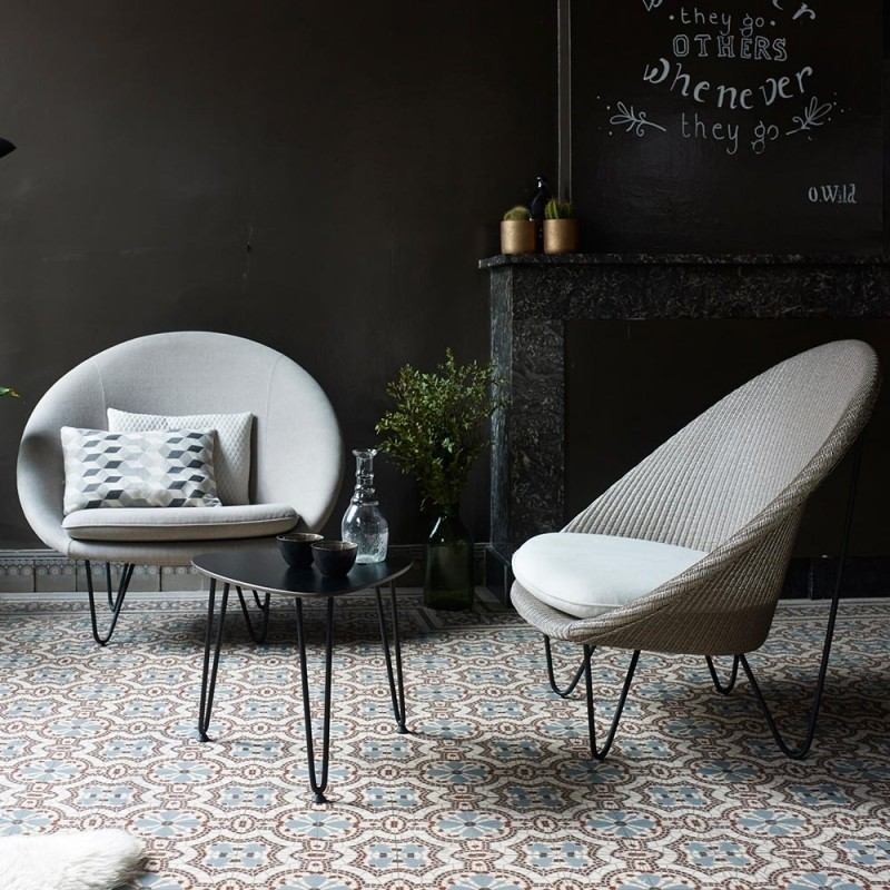 Vincent Sheppard Joe Cocoon Chair With Black Base