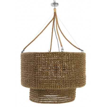 Bali Seagrass Ceiling Lamp Large