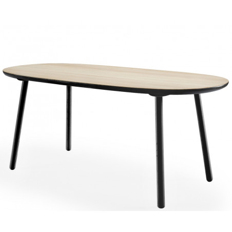 Emko Naive Dining Table Ash Black 1800 CM
