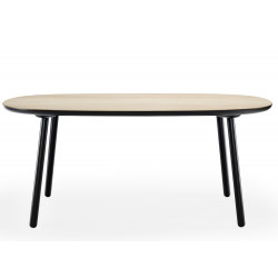 Emko Naive Dining Table Ash Black 1800 CM