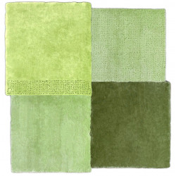Emko Over Square Rug Green 2 Sizes