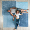 Emko Over Square Rug Blue 2 Sizes