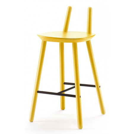 Emko Semi Bar Stool Yellow