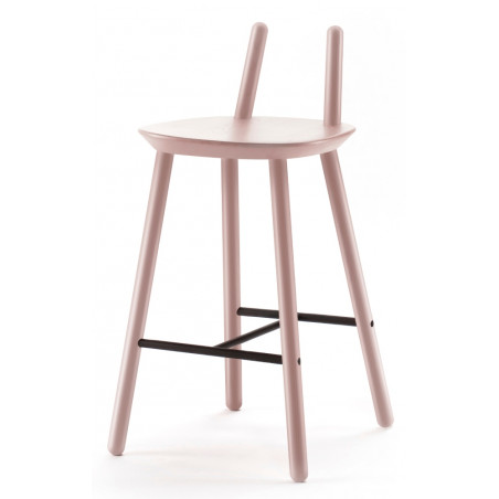 Emko Semi Bar Stool Dusky Pink