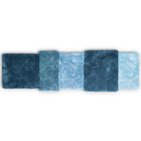 Emko Over Runner Rug Blue