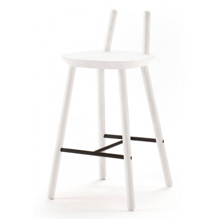 Emko Semi Bar Stool White