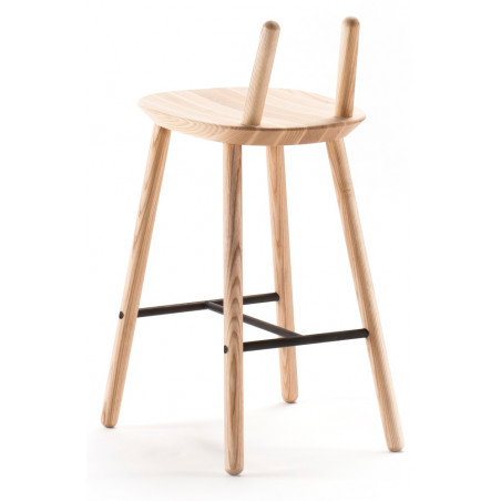 Emko Semi Bar Stool Natural Ash