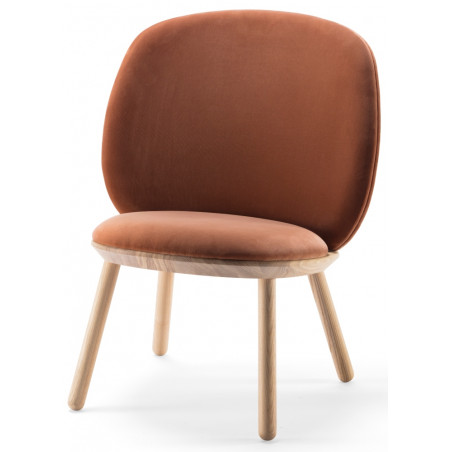 Emko Naïve Low Chair Ash Wood