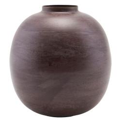 House Doctor Etnik Round Vase Red Purple