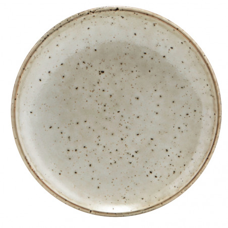 House Doctor Lake Cake Plate in Grey 15 CM