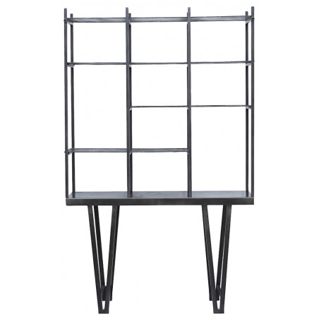 House Doctor Rawi Shelving Unit Black