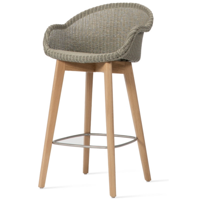 Vincent Sheppard Avril Counter Stool Oak Base