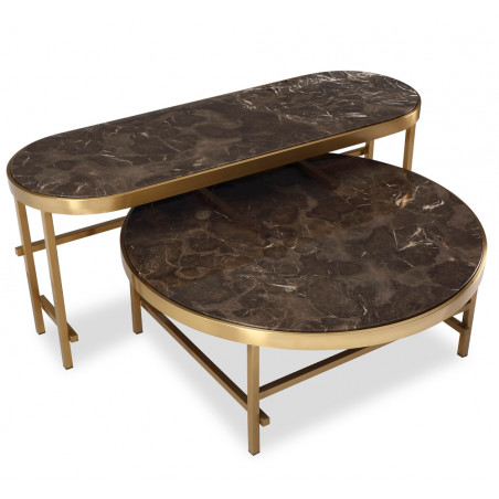 Liang & Eimil Delos Coffee Table | Set of Two