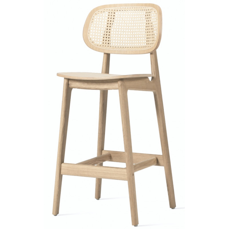 Vincent Sheppard Titus Counter Stool - Natural Oak Varnish