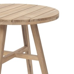 Medina 60cm Round Teak Table
