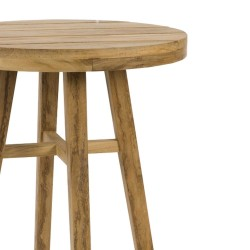 Medina 40cm Round Teak Table