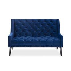 Richmond Sofa Kaster Marine Blue Velvet