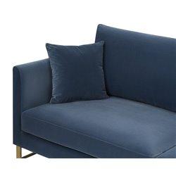 Liang & Eimil Vero Sofa Gainsborough Cobalt Blue Velvet