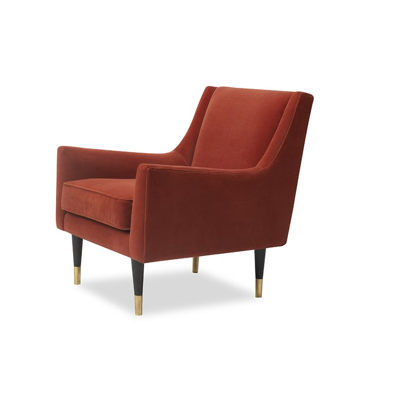 Liang & Eimil Conte Chair Toscana Ruby Velvet
