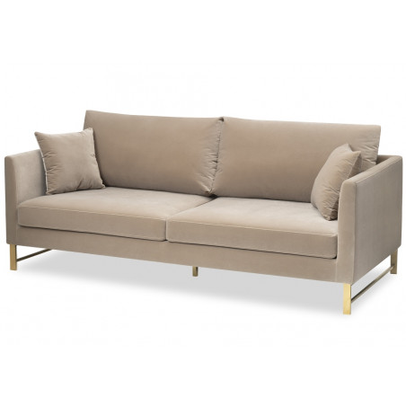 Liang & Eimil Vero Sofa Gainsborough Mink Velvet
