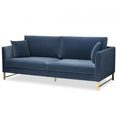 Vero Sofa Gainsborough Cobalt Blue Velvet