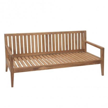 Kew Outdoor 2 Seat Teak Sofa