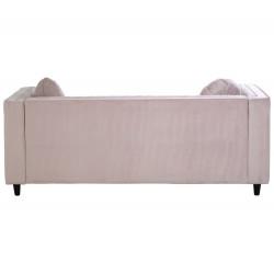 Lagoon Maison 2 Seater Pale Pink Velvet Sofa