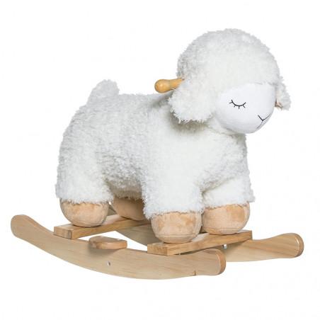 Bloomingville Rocking Sheep White