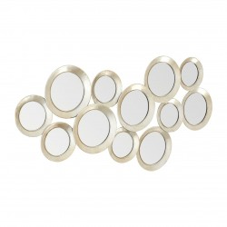 Lagoon Maison Multi Circle Silver Wall Mirror