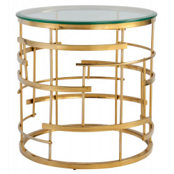 Liang & Eimil Viena Side Table Brass Finish