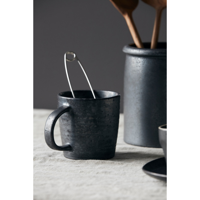 House Doctor Pion Cup Black Brown