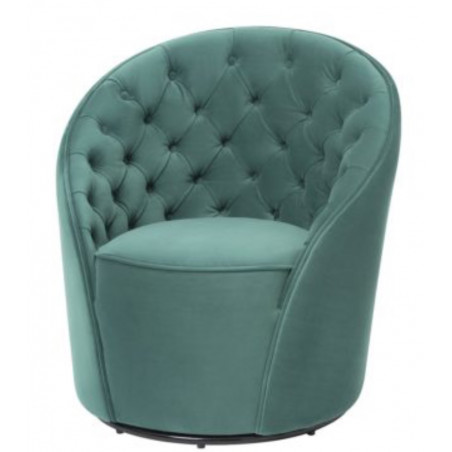Liang & Eimil Chelsea Chair Kaster Lincoln Green Velvet