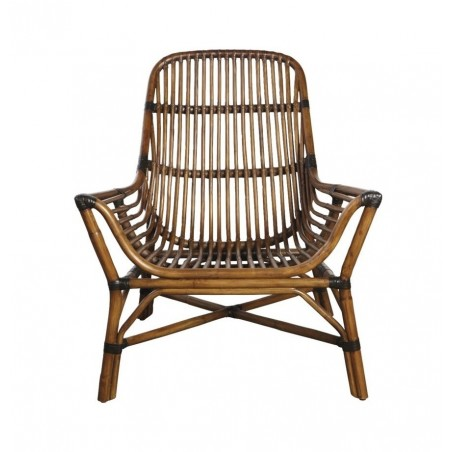 House Doctor Colony Lounge Chair Walnut