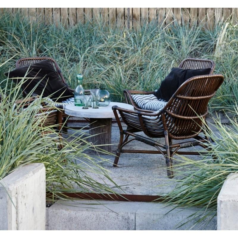 House Doctor Colony Lounge Chair Walnut