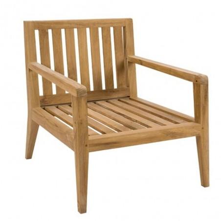 Kew Outdoor 2 Seat Teak Sofa