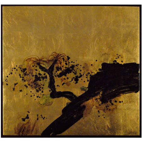 Liang & Eimil Gold leaf & Oil Paint On Canvas