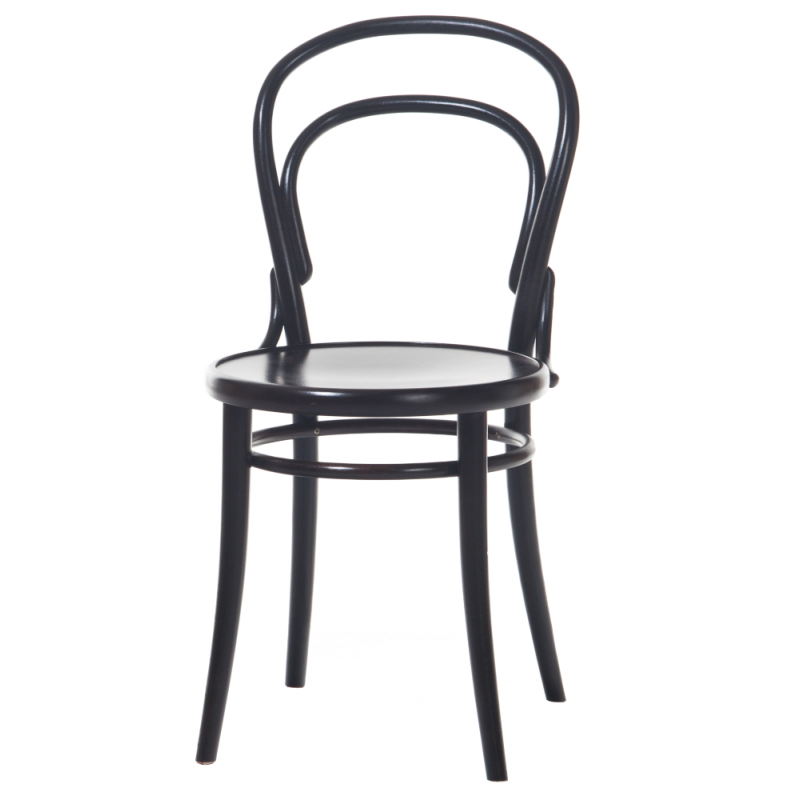 Ton Dining Chair 14 in Stained Bent Wood
