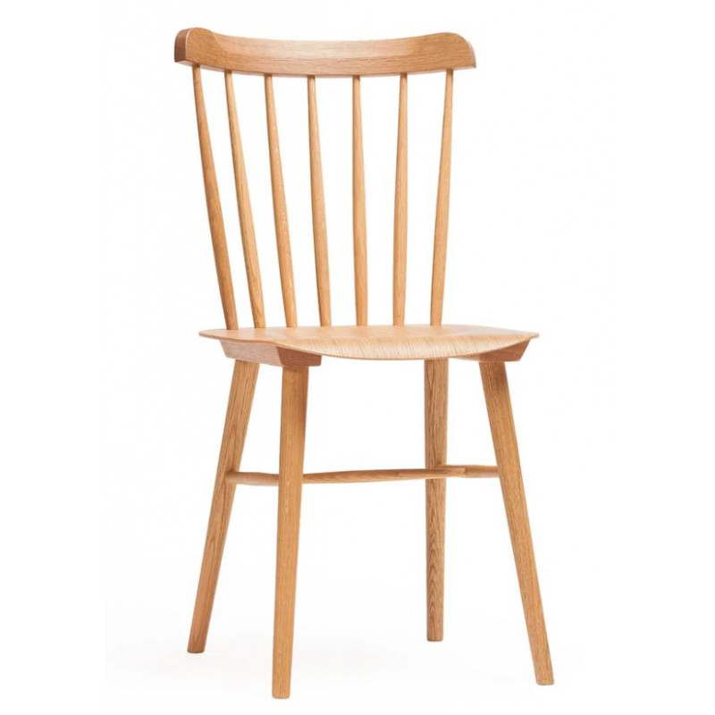 Ton Ironica Dining Chair Stained Beech