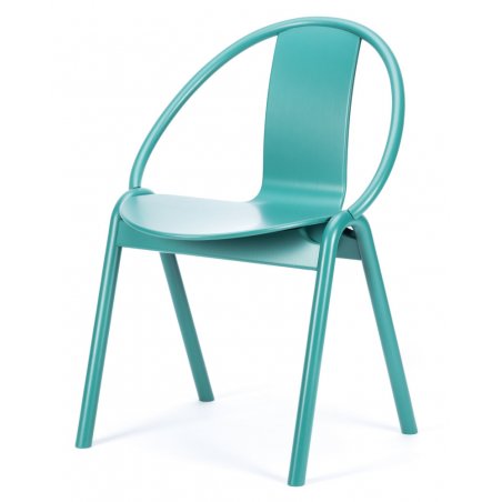 Ton Again Dining Chair in Bent Wood Pigment